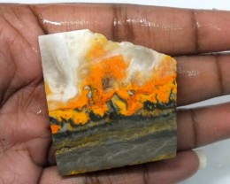 147.2 CTS BUMBLE  BEE JASPER ROUGH SLAB -INDONESIA [F 5695]
