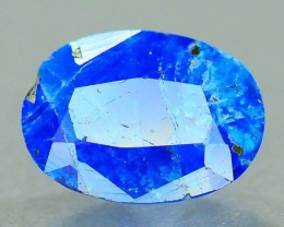 Rare 0.590 ct Natural Electric Blue Hauyne L.4 Collector's Gem