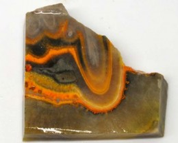 122 CTS BUMBLE  BEE JASPER ROUGH SLAB -INDONESIA [F5769 ]