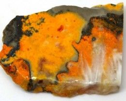 127 CTS BUMBLE  BEE JASPER ROUGH SLAB -INDONESIA [F5782 ]