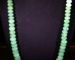 190 CTS 10 MM CHRYSOPRASE BEADS [MGW4635]