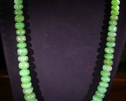 191 CTS 8 MM CHRYSOPRASE BEADS [MGW4638]