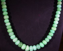 88 CTS 6 MM CHRYSOPRASE BEADS [MGW4640]