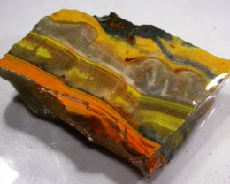 41.6 CTS BUMBLE  BEE JASPER ROUGH SLAB -INDONESIA [F5839]