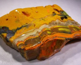 141.4 CTS BUMBLE  BEE JASPER ROUGH SLAB -INDONESIA [F5867]