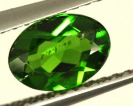 1 CTS LUSTEROUS RICH FOREST GREEN OVAL CHROME DIOPSIDE SP31