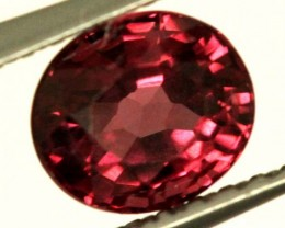 BRIGHT ORANGE RED RHODOLITE GARNET 1CTS  SP42