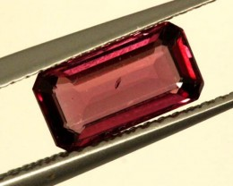 BRIGHT ORANGE RED RHODOLITE GARNET 1CTS  SP48