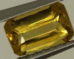 0.85 CTS GOLDEN YELLOWISH MALI GARNET VVS SP72