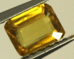 0.5 CTS GOLDEN YELLOWISH MALI GARNET VVS SP73