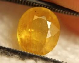 3.26 Carat Heat Only Yellow Sapphire