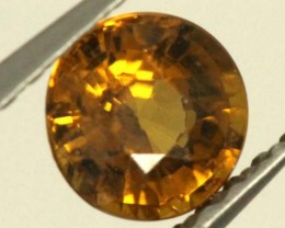 0.6 CTS GOLDEN YELLOWISH MALI GARNET VVS SP75