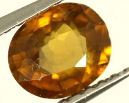 0.9 CTS GOLDEN YELLOWISH MALI GARNET VVS SP78