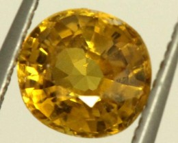 0.9 CTS GOLDEN YELLOWISH MALI GARNET VVS SP81