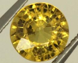 0.6 CTS GOLDEN YELLOWISH MALI GARNET VVS SP82