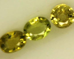 0.7 CTS LOVELY GREENISH YELLOW CHRYSOBERYL  VVS SP93