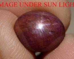 6.95 Carats Star Ruby Beautiful Natural Unheated & Untreated