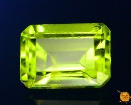 1.175 ct Untreated Green Peridot ~ Pakistan