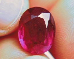 9.46 Carat Fiery Pigeon Blood Ruby - Superb