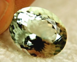 11.6 Carat IF/VVS1 Vibrant Green Brazil Beryl - Superb
