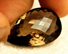 58.5 Carat IF/VVS1 Natural Smokey Quartz - Gorgeous