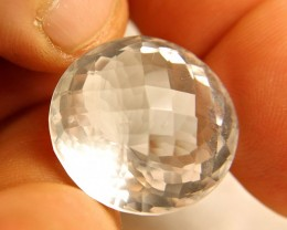48.3 Carat Natural VVS1 Brazil White Quartz - Superb