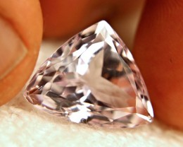19.0 Carat VVS Pink Himalayan Kunzite Trillion - Gorgeous