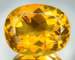 5.43 Cts Natural Golden Orange Citrine Brazil - GEMEX - NR Auction