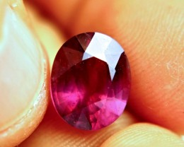 5.6 Carat Vibrant Purplish Red Ruby - Superb