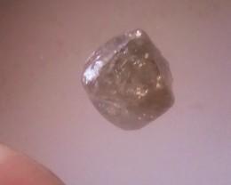 NATURAL CHAPANGE BROWN DIAMOND ROUGH,1.40CTWSIZE,1PCS
