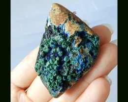 177.5 Cts Nugget Beautiful Azurite Bead