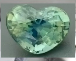 CERTIFIED UNHEATED UNTREATED Fancy Heart Sapphire 1.21cts