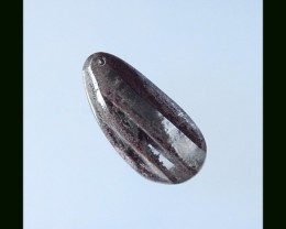 33.55 Cts Natural Quartz Lodolite Gemstone