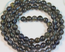 90.3 CTS IOLITE NATURAL STRANDS POLISHED BEADS P939