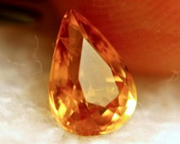 1.55 Carat Whiskey Colored VS-SI Sapphire - Beautiful