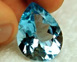 29.16 Carat VVS1 Brazil Blue Topaz - Gorgeous