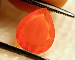 1.52 Carat Natural Mexican Fire Opal - Beautiful