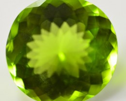 11 CT UNTREATED NATURAL NEON GREEN COLOR OVAL SHAPE   PERIDOT