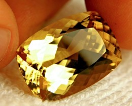 30.91 Carat VVS Natural Golden Andesine
