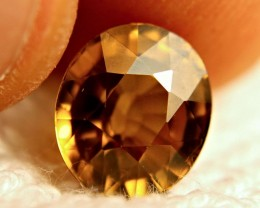 6.55 Carat Golden Yellow VVS Southeast Asian Zircon