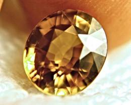6.55 Carat Golden Yellow VVS Southeast Asian Zircon