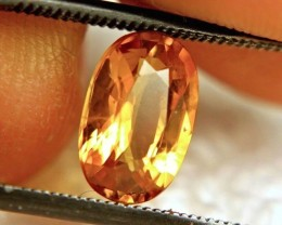 2.33 Carat VS/SI Golden Yellow Sapphire - Gorgeous