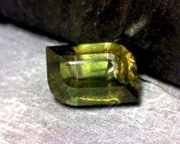 Custom Cut Rare Idocrase Vesuvianite Gemstone Trichroic