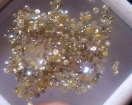 NATURAL YELLOW DIAMOND,5CTWPARCEL DEAL