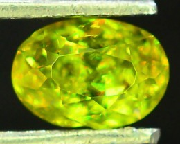 Natural Sphene 0.74 ct Great Color Dispersion
