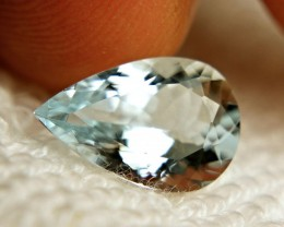 3.42 Carat VVS Brazilian Aquamarine - Superb