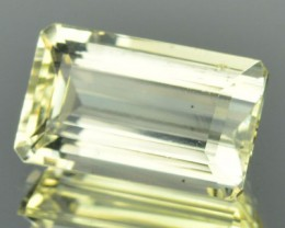 4.74 Cts Natural Golden Yellow Scapolite Octagon Cut Tanzanian Gem