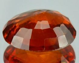 5.62 Cts Untreated Natural Cinnamon  Red Hessonite Garnet Cushion Gem