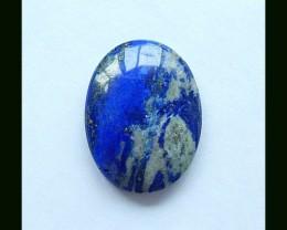 80.7 Ct Pure Blue Oval Lapis Lazuli Cabochon