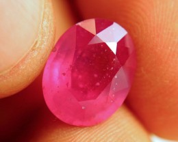 8.54 Carat Fiery Pink Ruby - Gorgeous